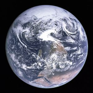Blue Marble Apollo in its original orientation